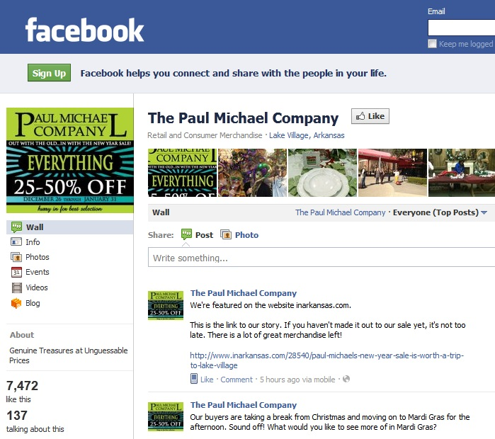 how to make a great company facebook page