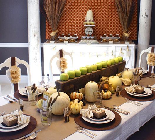 thanksgiving decor arkansas