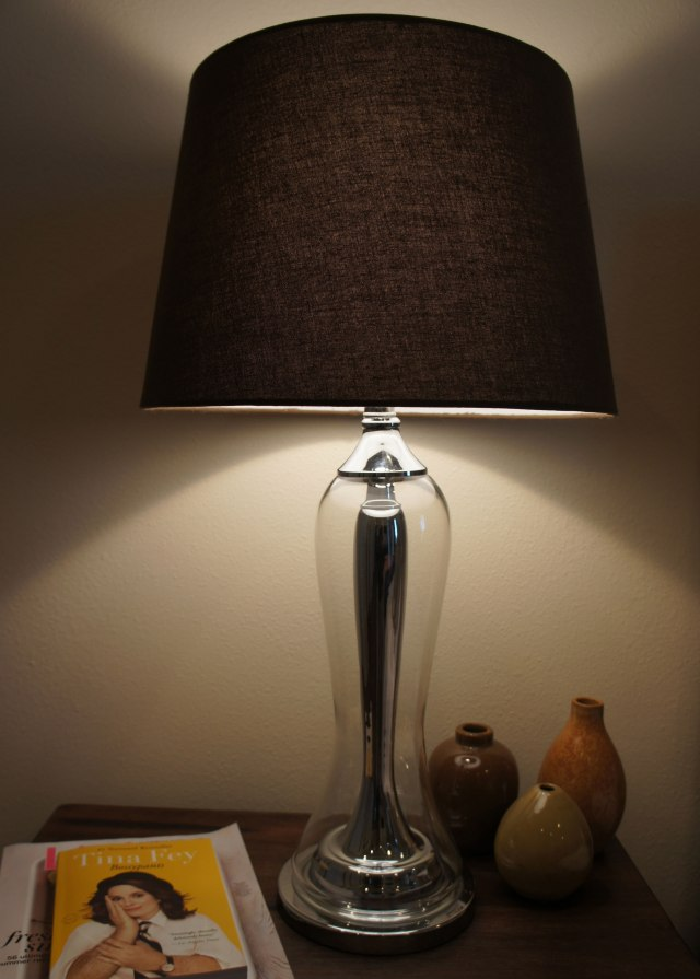 Brighten up the room with a lamp.