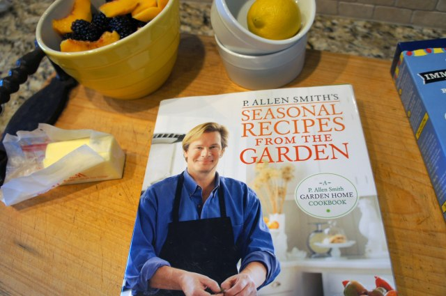 This cookbook features recipes that use seasonal produce.
