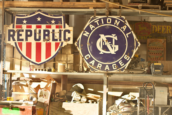 PMC Antique Signs